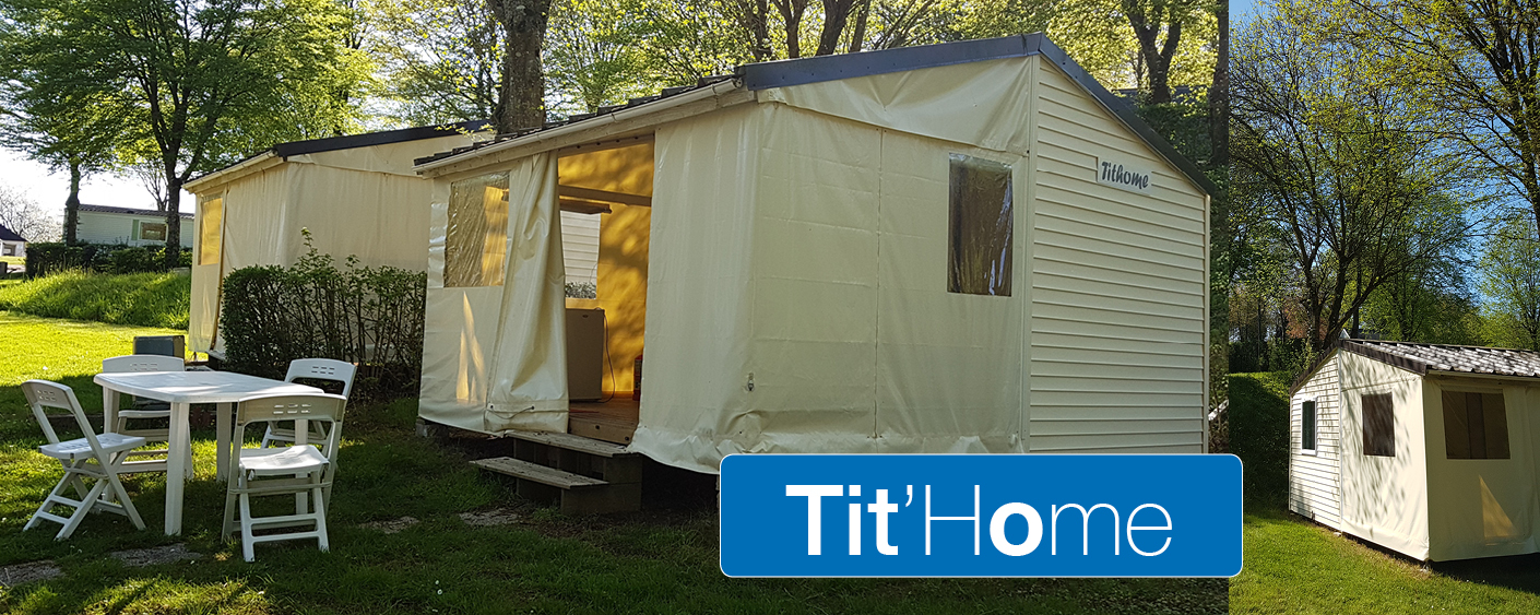 "Tit'Home<br/><strong>Mobil home ""Tithome"" 2 chambres</strong>"